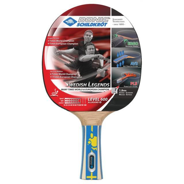 Paleta tenis de masa Donic Sweedish Legends 600-big
