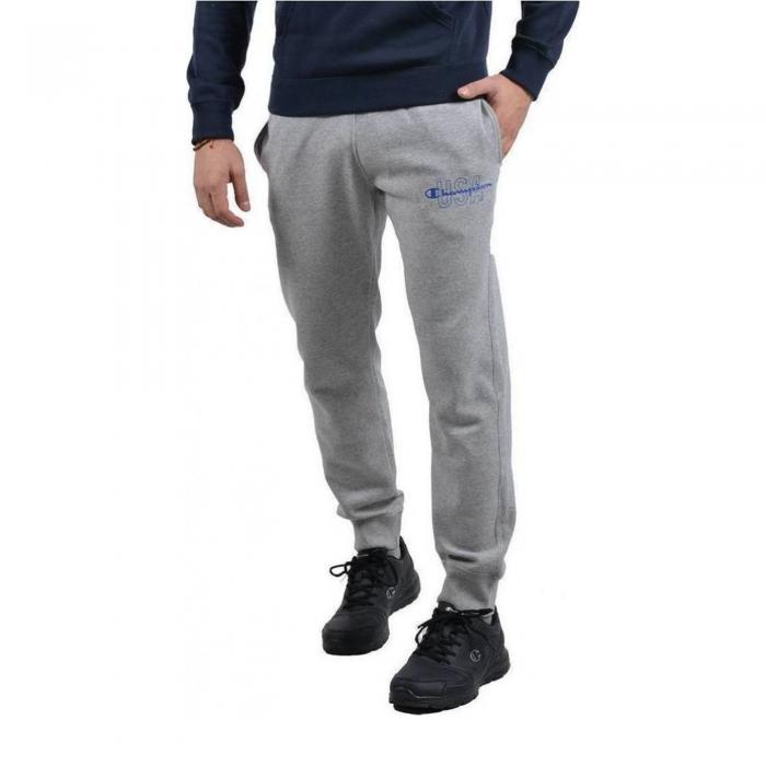 Pantaloni barbati Champion  Rib Cuff Pants gri-big