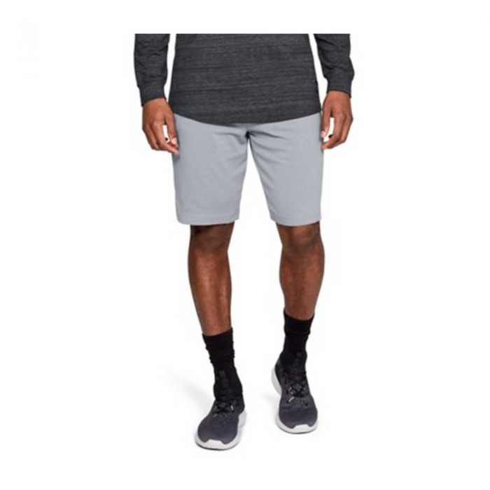 Pantaloni scurti sport barbati Under Armour SPORTSTYLE RIVAL gri-big
