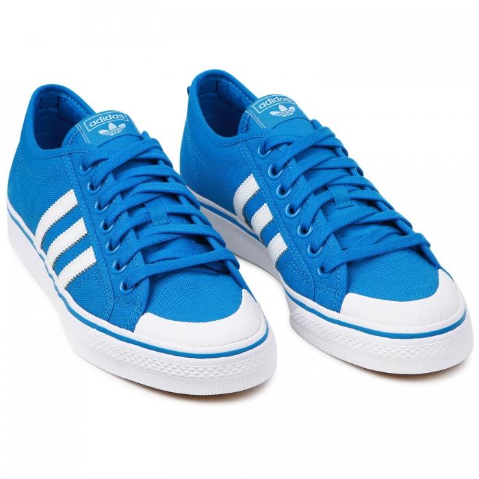 Pantofi sport barbati Adidas Originals NIZZA albastru/alb-big