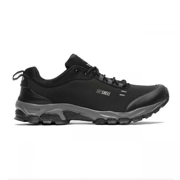 Pantofi sport barbati Brille LOW Soft shell negru/gri-big