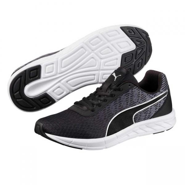 Pantofi sport barbati Puma Comet negru/argintiu-big