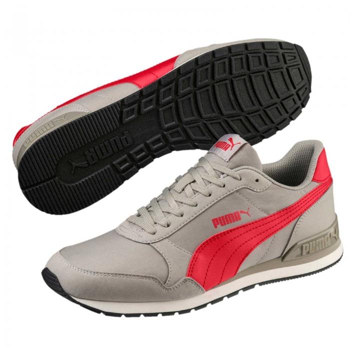 Pantofi sport barbati Puma ST Runner v2 NL bej/rosu-big