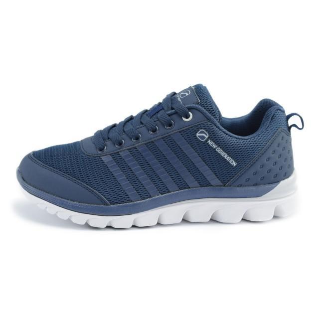 Pantofi sport femei Runners RNS-171-1614 NAVY/LT.GREY 36-41-big