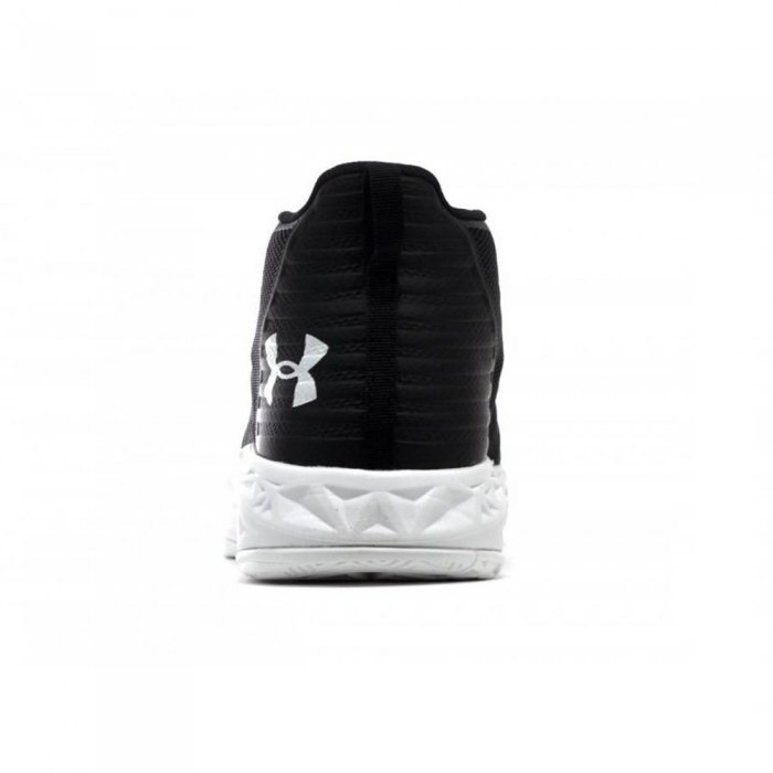Pantofi sport inalti barbati Under Armour UA Jet Mid negru/alb-big