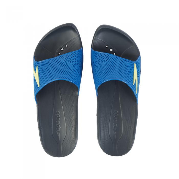 Papuci barbati Speedo Atami II Max gri/albastru-big