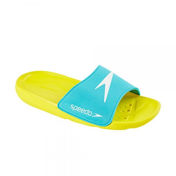 Papuci copii Speedo Atami Core galben/albastru-big