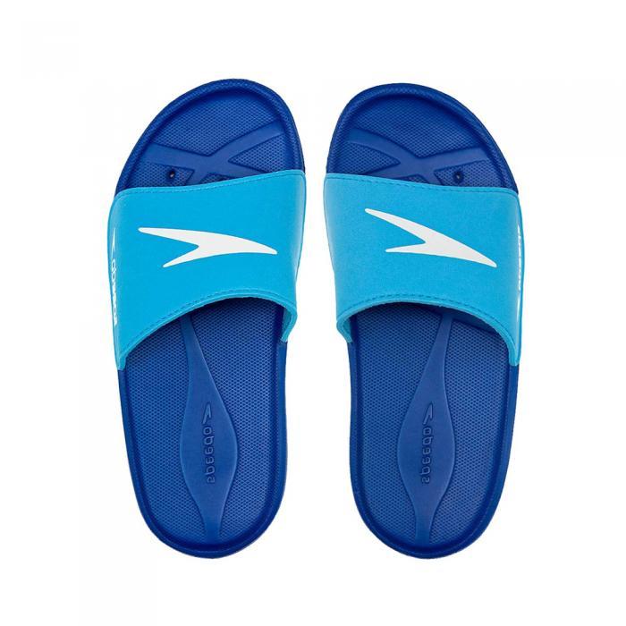 Papuci copii Speedo Atami Core baieti albastru/albastru-big