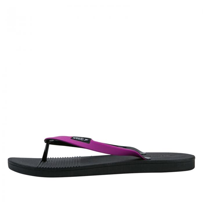Papuci pentru femei Speedo Saturate II, negru/mov-big