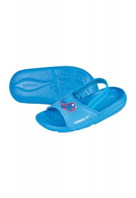 Papuci Speedo copii Atami Sea Squad albastru-big