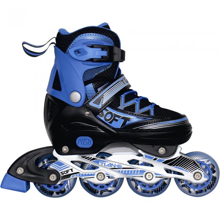 Role reglabile TE-781A albastru-big