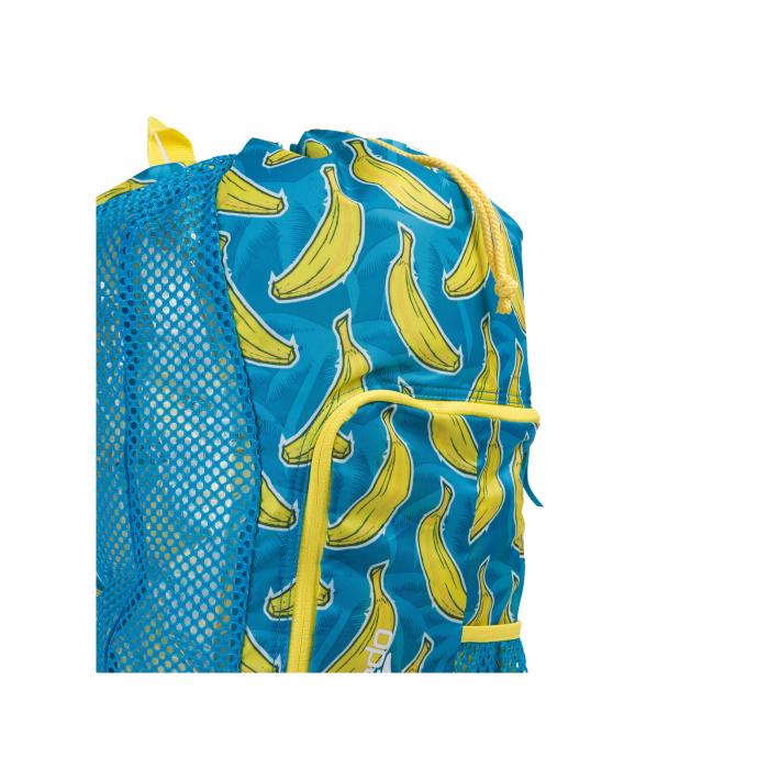 Saculet de plasa pentru accesorii Speedo DeLuxe albastru/galben-big