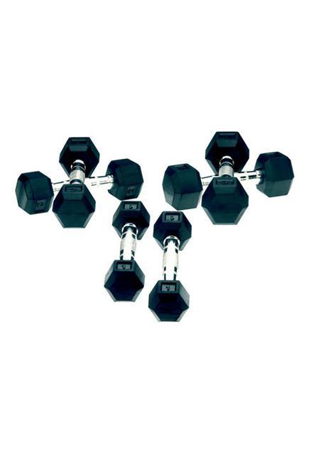 Set gantere hexagonale 5 kg Tunturi-big