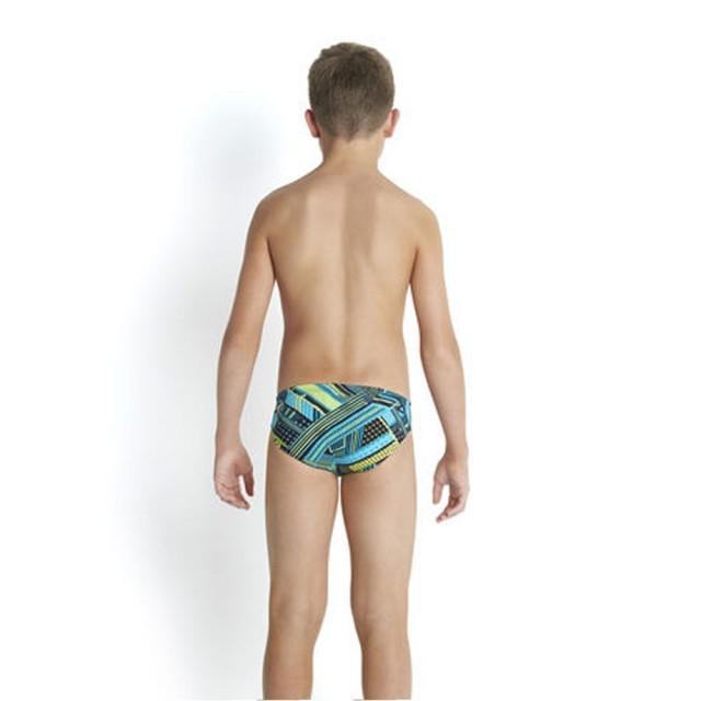 Slip allover 6.5 Speedo pentru baieti negru/albastru-big