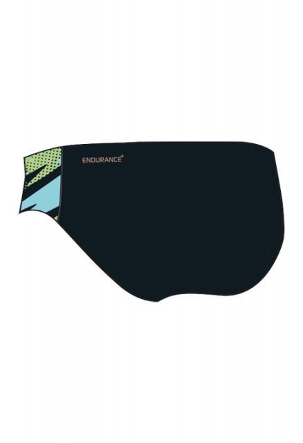 Slip allover 6.5 Speedo pentru baieti negru/albastru/verde-big