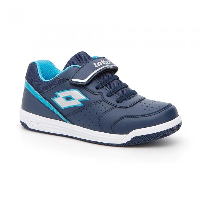 Pantofi sport copii Lotto SET ACE XII CL SL albastru-big