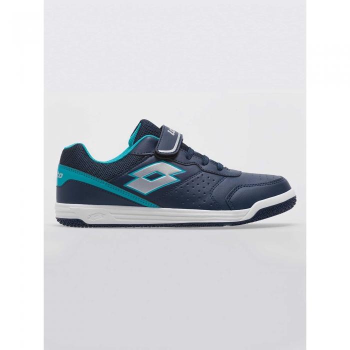 Pantofi sport copii Lotto SET ACE XII JR SL albastru-big