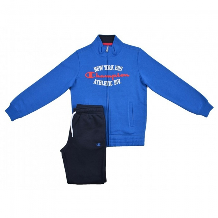 Trening copii Champion Tracksuit albastru/bleumarin-big