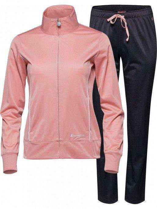 Trening femei Champion Full Zip roz/negru-big