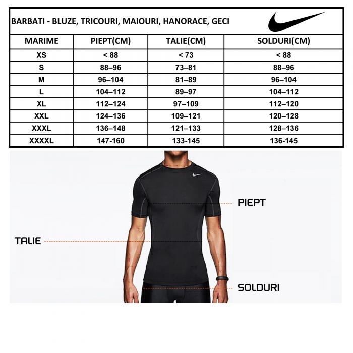 Tricou barbati Nike M AIR SPRT CREW gri-big
