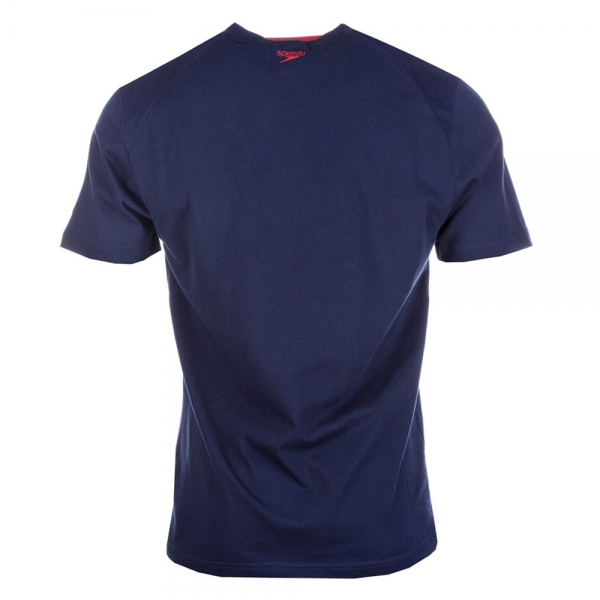 Tricou copii Speedo Big Logo navy-big