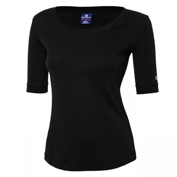 Tricou femei Champion Crewneck T-Shirt negru-big