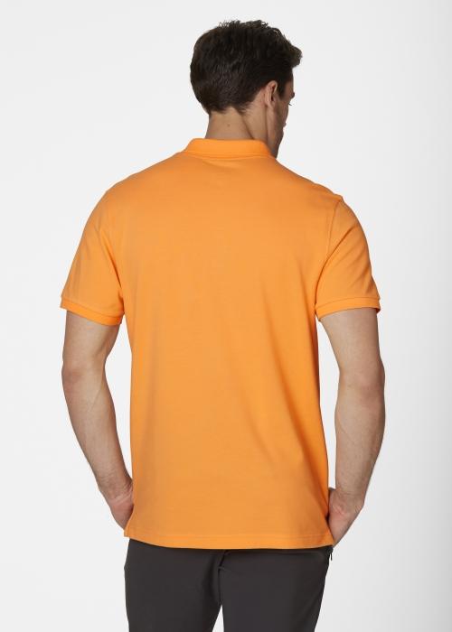 Tricou polo barbati Helly Hansen Transat Polo portocaliu-big