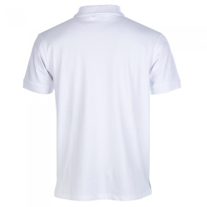 Tricou polo pentru barbati Speedo Meridere, alb-big