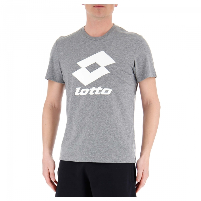 Tricou sport barbati Lotto SMART TEE JS gri-big