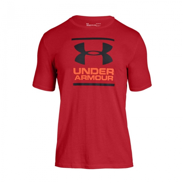 Tricou sport barbati Under Armour UA GL Foundation SS T rosu-big
