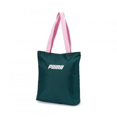 Geanta femei Puma Core Shopper verde
