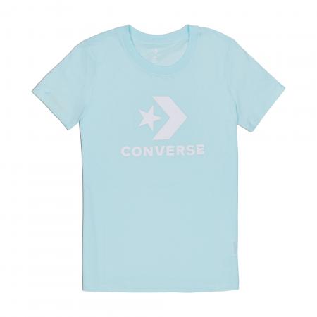 Tricou sport famei Converse STAR CHEVRON CORE SS TEE albastru
