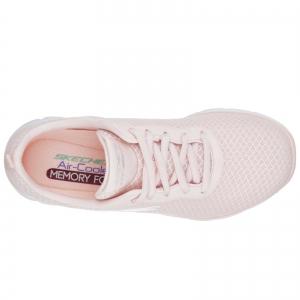 Pantofi sport dama Skechers FLEX APPEAL 2.0 NEWSMAKER roz/alb4