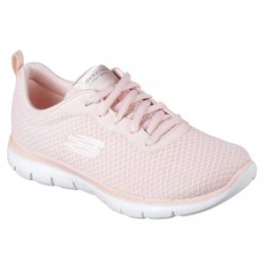 Pantofi sport dama Skechers FLEX APPEAL 2.0 NEWSMAKER roz/alb0