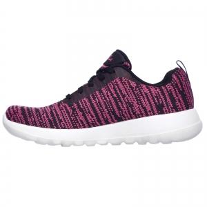 Pantofi sport dama Skechers GO WALK JOY RAPTURE negru/roz/alb2
