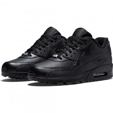 Pantofi sport barbati Nike AIR MAX 90 LEATHER negru1