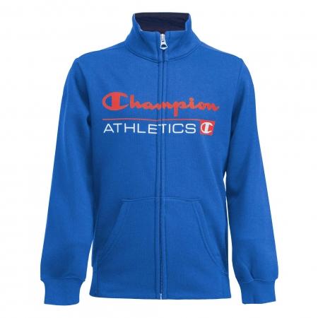 Trening copii Champion Full Zip Ultra Light Fall Fleece albastru/bleumarin1