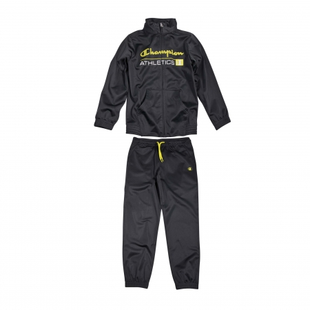 Trening copii Champion Full Zip poliester gri inchis
