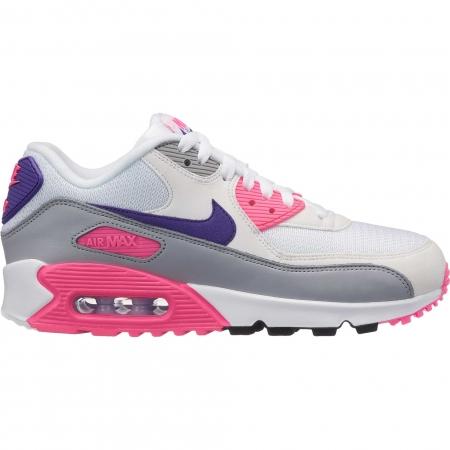 Pantofi sport femei Nike WMNS AIR MAX 90 alb/roz