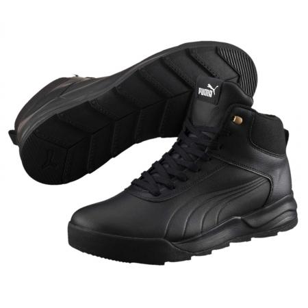 Pantofi sport inalti barbati Puma Desierto Sneaker L  negru0