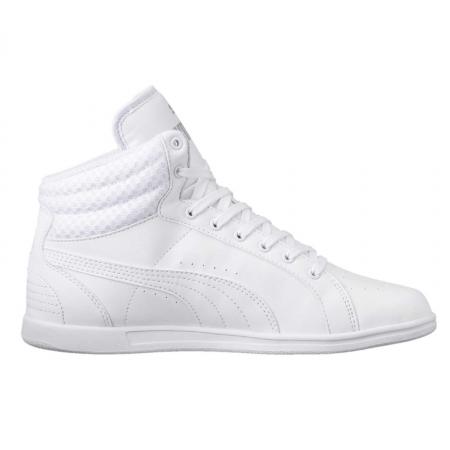 Pantofi sport inalti femei Puma Ikaz Mid v2 alb3