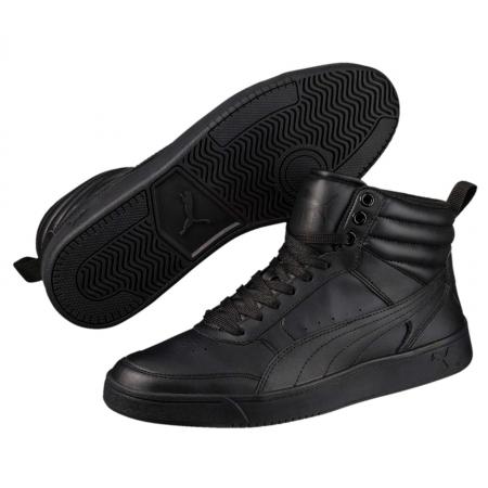 Pantofi sport inalti barbati Puma Rebound Street v2 L negru
