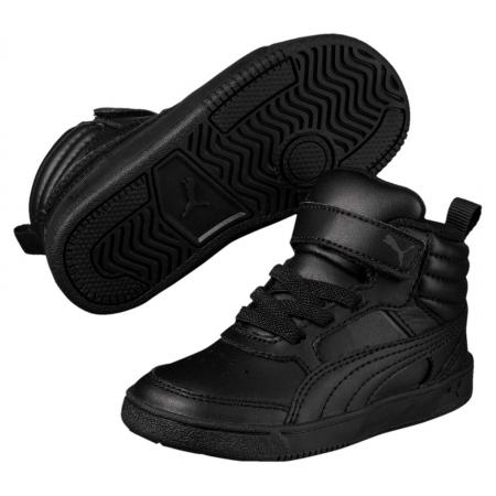 Pantofi sport inalti copii Puma Rebound Street v2 L V Inf negru