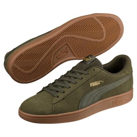 Pantofi sport  barbati Puma Smash v2 verde