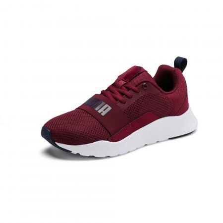 Pantofi sport copii Puma Wired grena