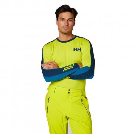 Bluza termica barbati Helly Hansen HH LIFA ACTIVE CREW verde2