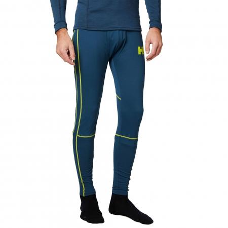 Pantaloni termici barbati Helly Hansen HH Lifa Active turcoaz2