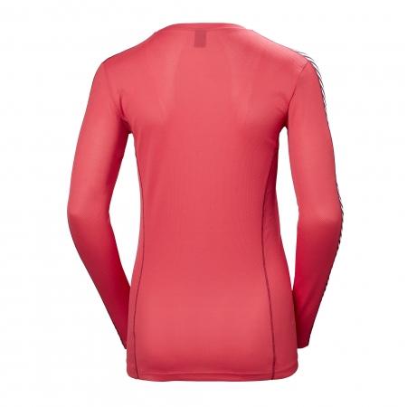 Bluza termica femei Helly Hansen W HH LIFA CREW rosu 1