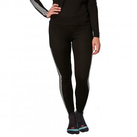 Pantaloni termici femei Helly Hansen W HH Lifa negru1