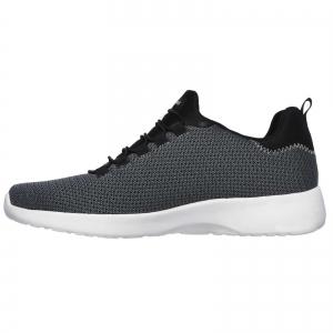 Pantofi sport barbati Skechers DYNAMIGHT negru/alb2